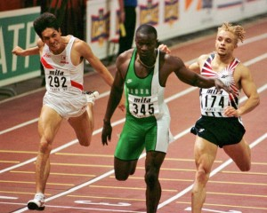 4x400m men WC 1995