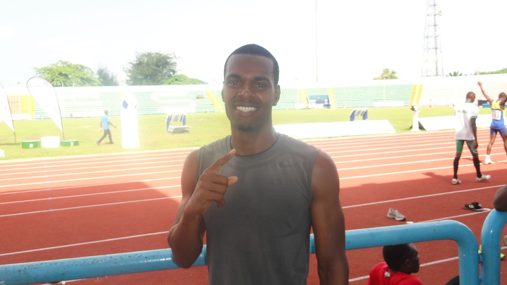 Tyron 'Toritseju' Akins, 2014 Nigerian 110m Hurdles Champion,  recently switched allegiances from Team USA