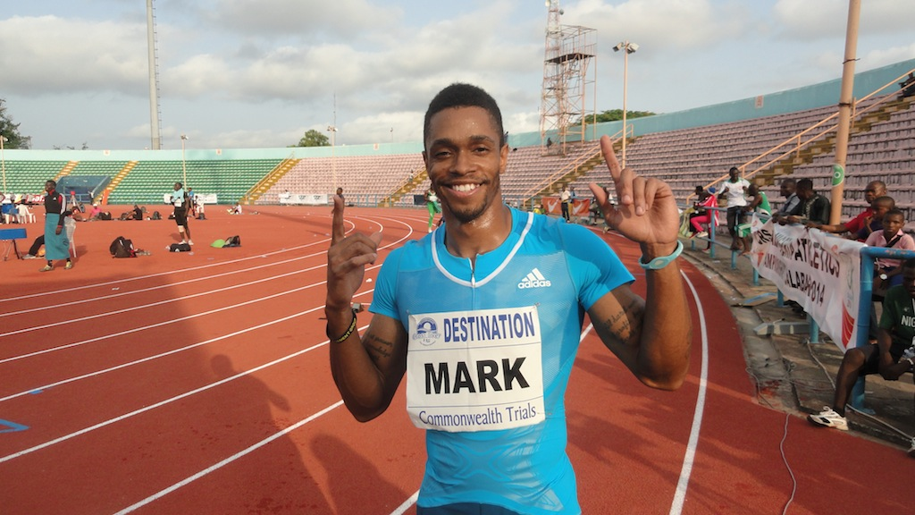 Mark 'Amuju' Jelks, 2014 Nigerian 100m Champion, recently switched allegiances from Team USA