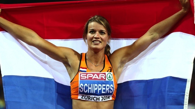 Schippers raced into the history books as the 10th woman to win the sprint double at the European Championships in Zurich. (Photo Credit: www.motorvision.de)