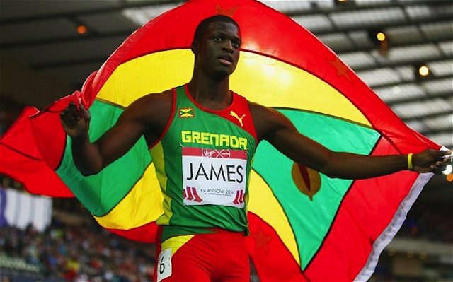 Kirani James had an outstanding 2014 season.  (Photo Credit:Alex Livesey/Getty Images Europe)