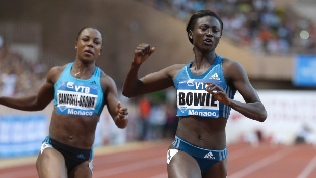 Tori Bowie recorded four victories iin the Diamond League this year (Photo Credit Lionel Cironneau/The Associated Press)