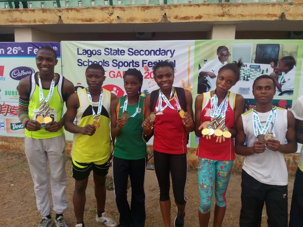 Successful athletes