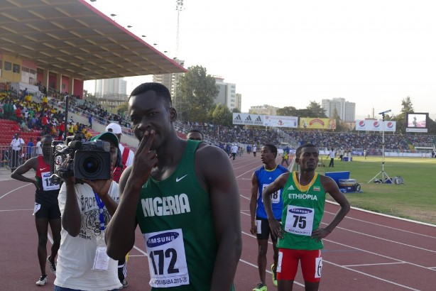 Victor Peka is aiming for a medal in the 200m.