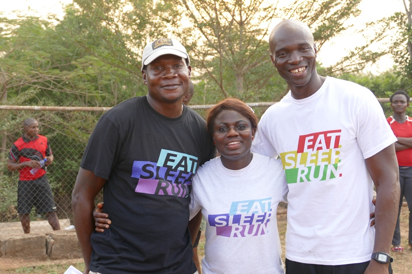 Top Sprinter Coaches, Deji Aliu, Glory Alozie and Francis  Obikwelu