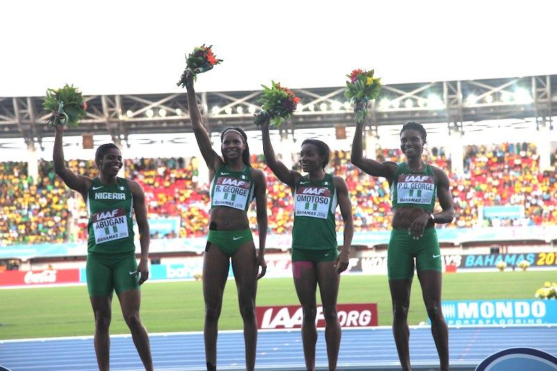 Nigerian 4x400m women