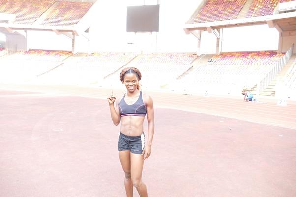 Nkem Ezealah shone in the women's 100m.