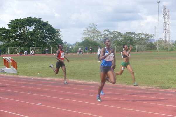 Tosin Adeloye set three PB's enroute qualifying for the Jackpot.