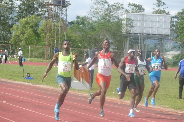 Orukpe Erayokan was edged out of contention for the Jackpot by Samson Nathaniel.