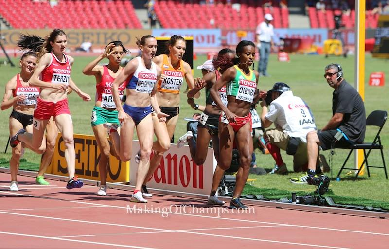 Genzebe is aiming for her first outdoor world title.