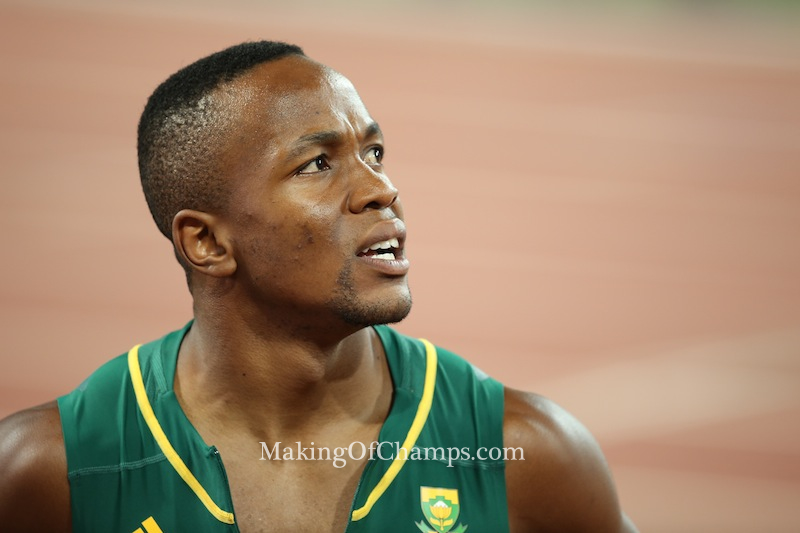 Simbine bettered the South African 100m record twice in 2016.