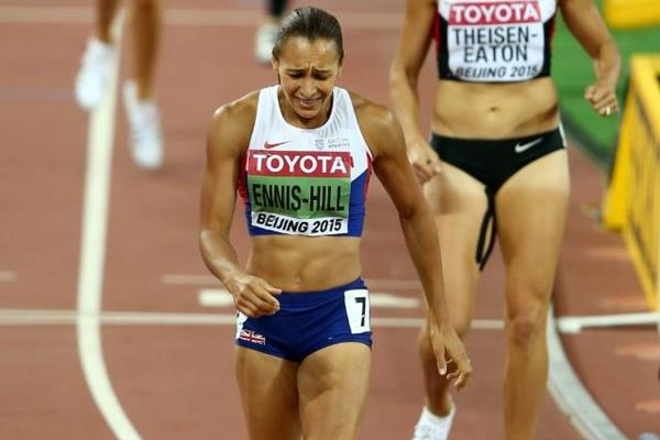 Ennis-Hill made an impressive comeback, taking her second world title in The Hepthatlon. (Photo Credit: Getty Images)