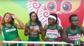 Nigeria 4x1 at Beijing 2015