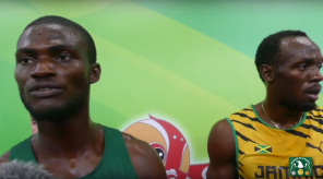 Usain Bolt & Tega Odele