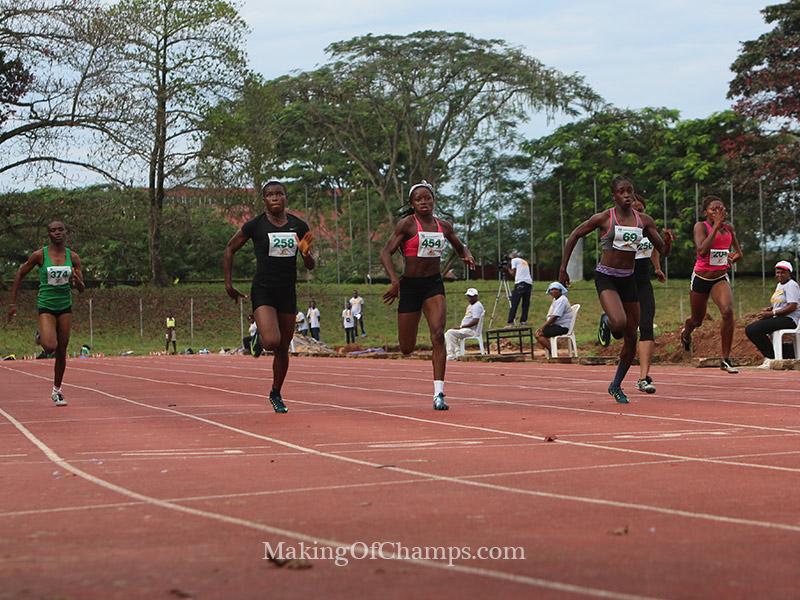 Benin Top Sprinter auditions