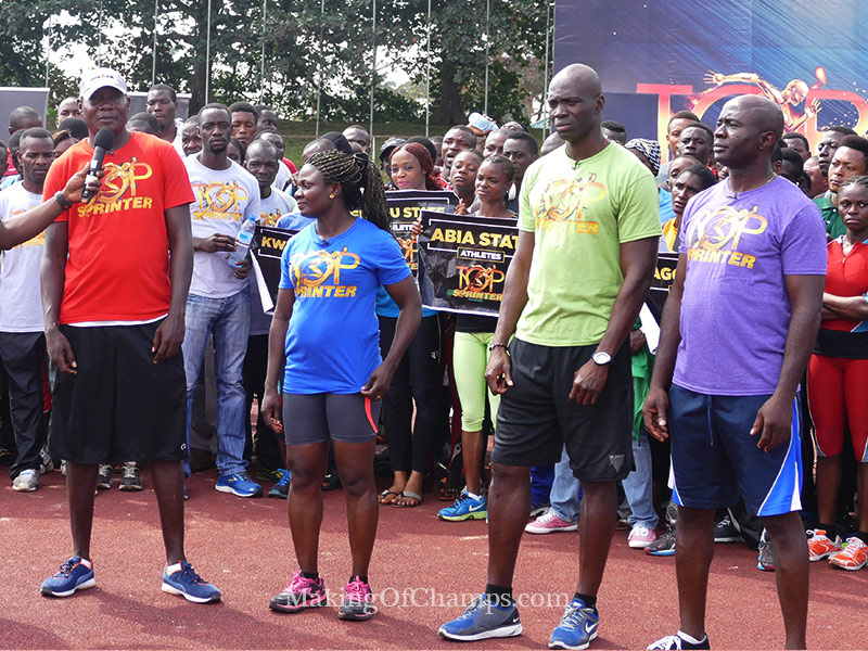 Benin Top Sprinter auditions