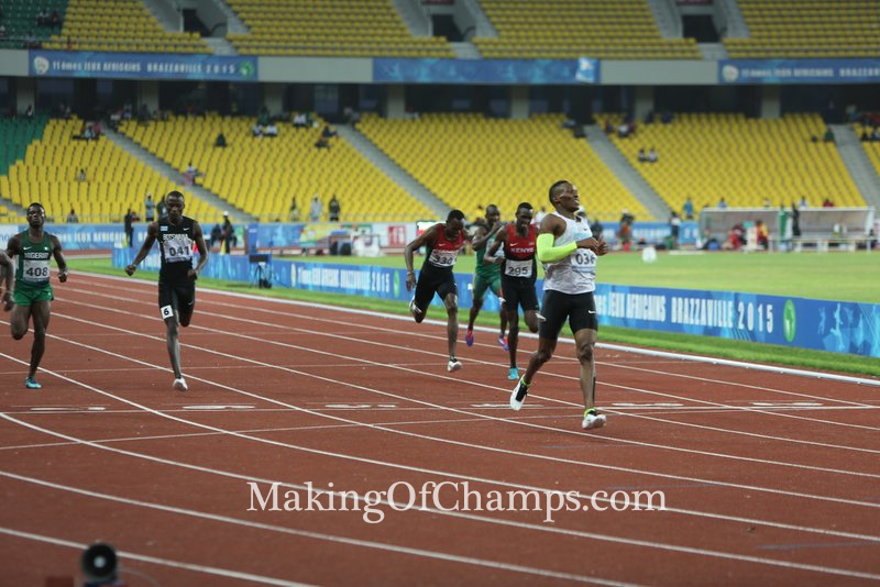 Makwala stormed to his first All-Africa Games individual title.