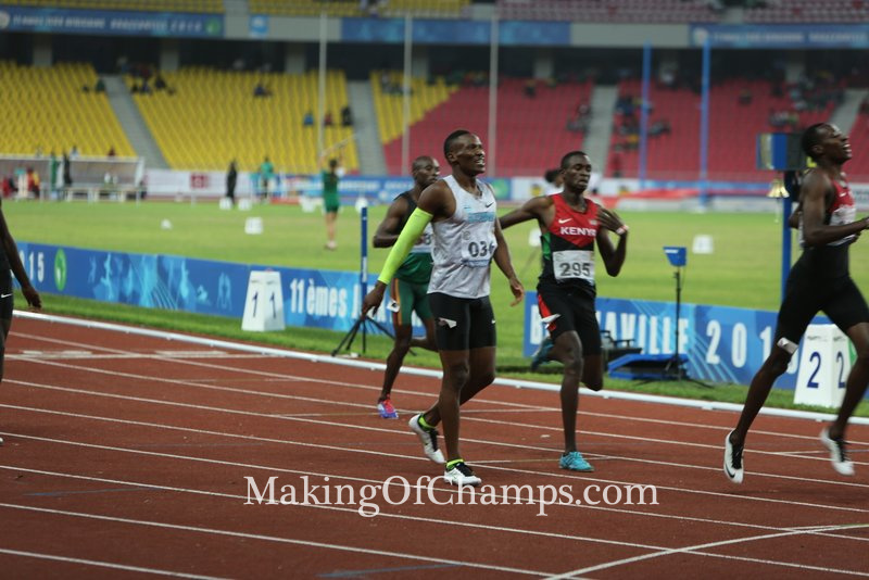 Makwala ends the 2015 season on a high note after winning the men's 400m.