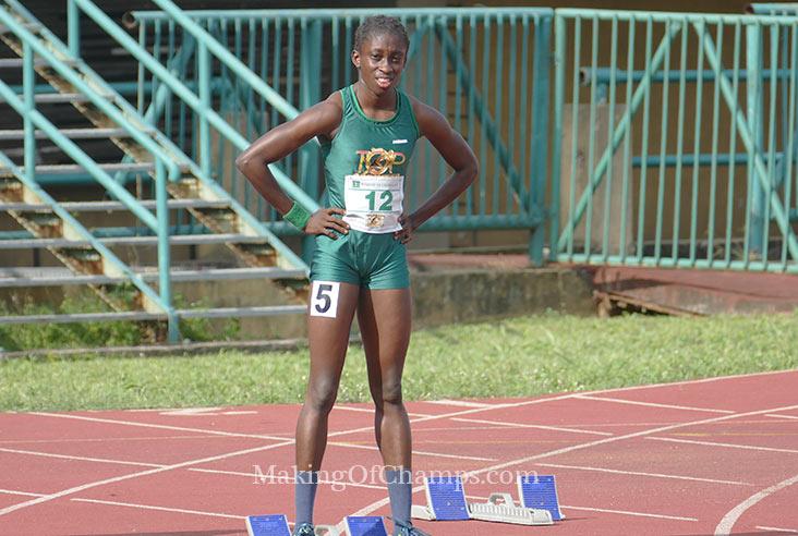 Marvelous Asemota continued her winning streak in Lagos.