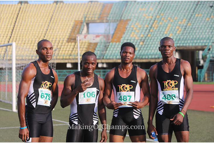 Team Emedolu dominated the senior category of the relays.