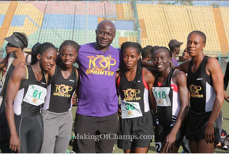Team Emedolu 4x400m women