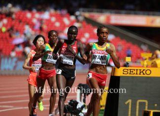 2015 World Championships, Almaz Ayana, Genzebe Dibaba