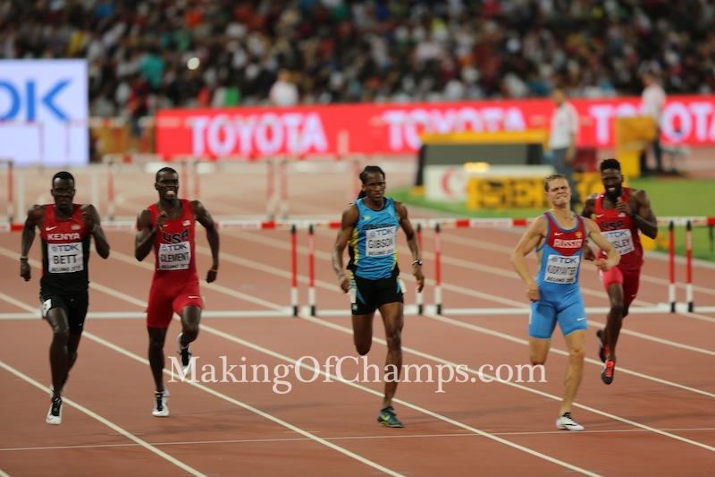 Nicholas Bett, 400m Hurdles, World Championships