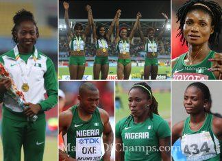 Beijing 2015 World Championships, Brazzaville 2015
