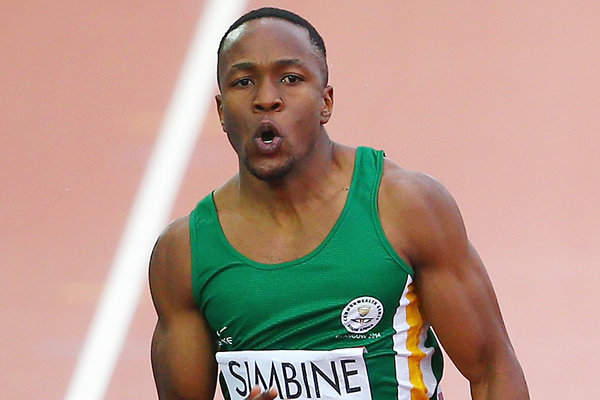Simbine became the first South African in almost a century to get to the 100m Olympic final. Photo Credit: Getty Images