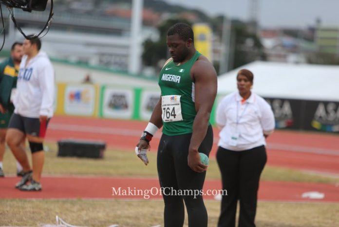 Durban 2016 African Athletics Championships.