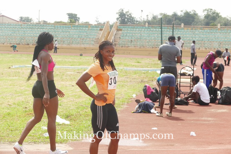 Omotosho secured two victories in her first outing of the season.