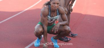 Patience Okon George races to Season's Best at Grenada Invitational