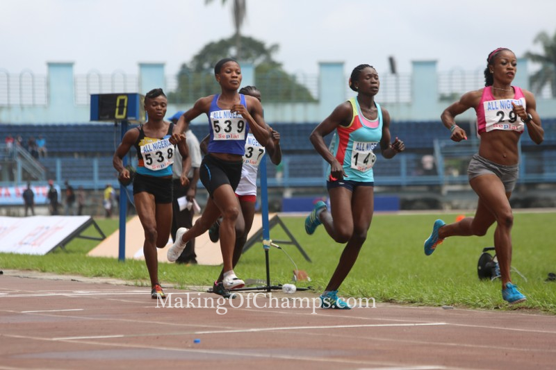 Philomena Ikehandu was the woman to beat in the 800m.