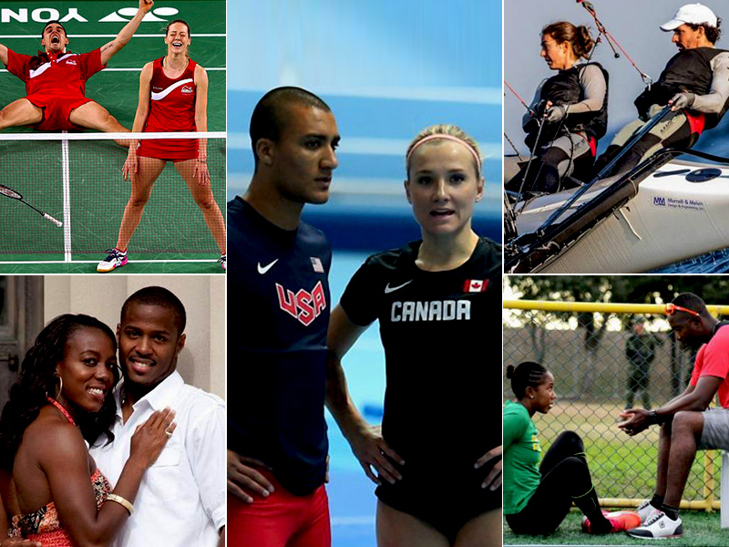 Top 5 sports couples