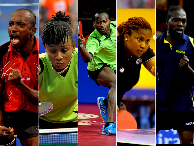 Nigeria\'s Table Tennis team set for historic outing in Rio | MAKING ...