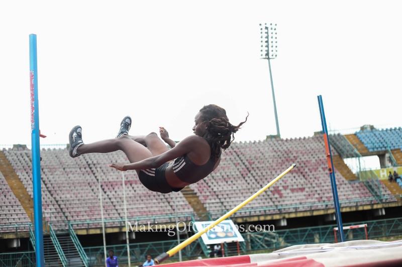 Esther Isa won the Junior Girls High Jump