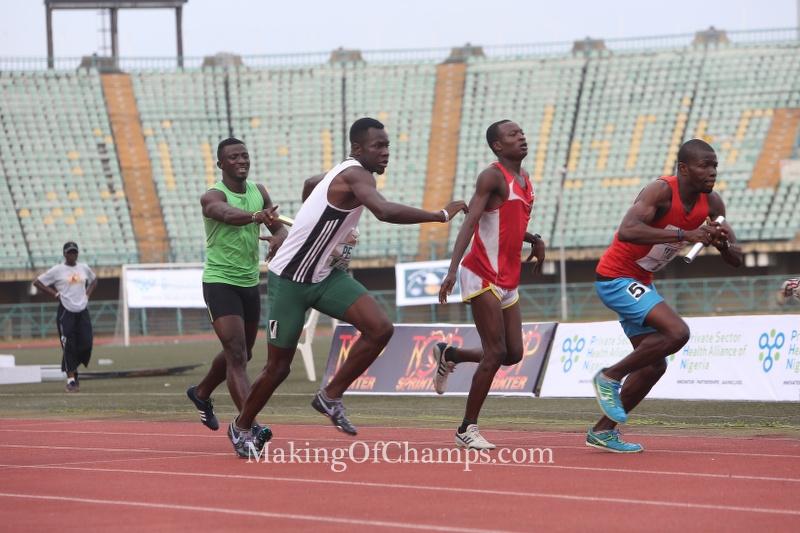 Top Sprinter men's 4x400m
