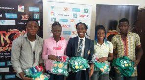 MoC unveiled five new athletes joining its track club in 2017: Saheed Jimoh, Glory Nyenke, Blossom Akpedeye, Blessing Obarierhu and Segun Akhigbe
