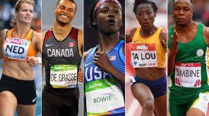World Top Sprinters
