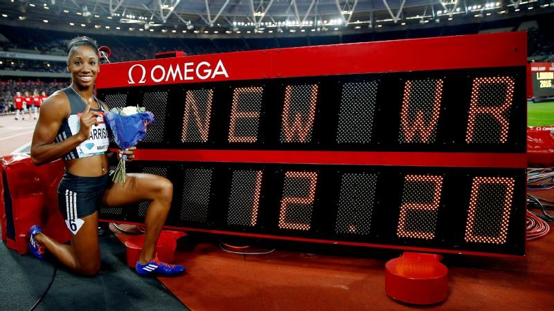 Harrison smashed the World Record at the London DL. Photo Credit: Reuters
