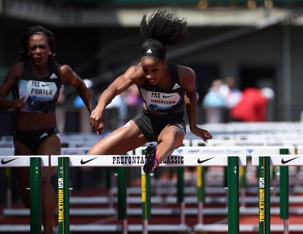 Harrison dominated the 100m Hurdles in 2016. Photo Credit: Image of Sport