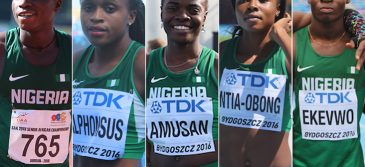 Five Nigerian Sprinters to watch out for in 2017