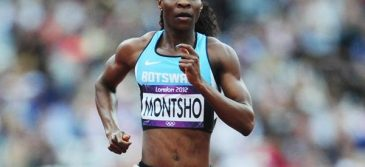 Amantle Montsho returns with 3rd place finish at BAA Meet