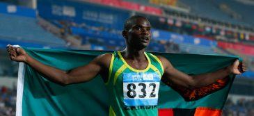 Zambia's Sydney Siame clocks 100m WL of 9.87s