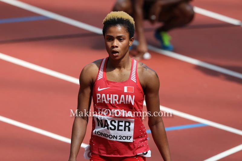 Nigerian-born Salwa Eid Naser wins World 400m Silver for Bahrain