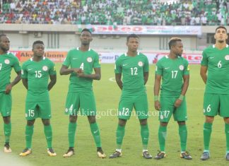 2018 World Cup qualifiers, Nigeria, Russia 2018 World Cup