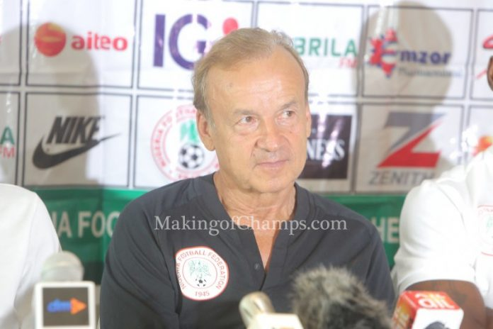Zambia, 2018 World Cup qualifiers, Super Eagles, Nigeria