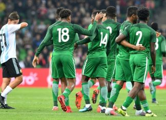 Super Eagles vs Argentina
