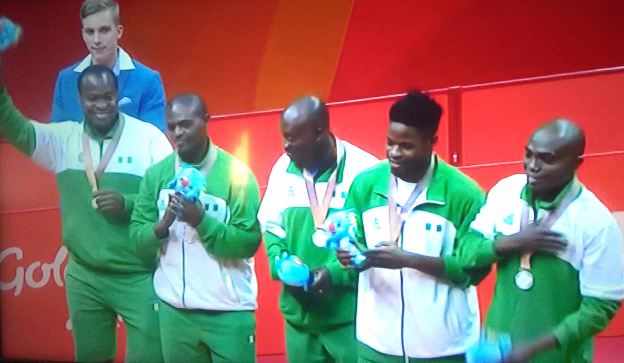 Men's T/Tennis Team claim 1st medal for Nigeria at 2018 ...