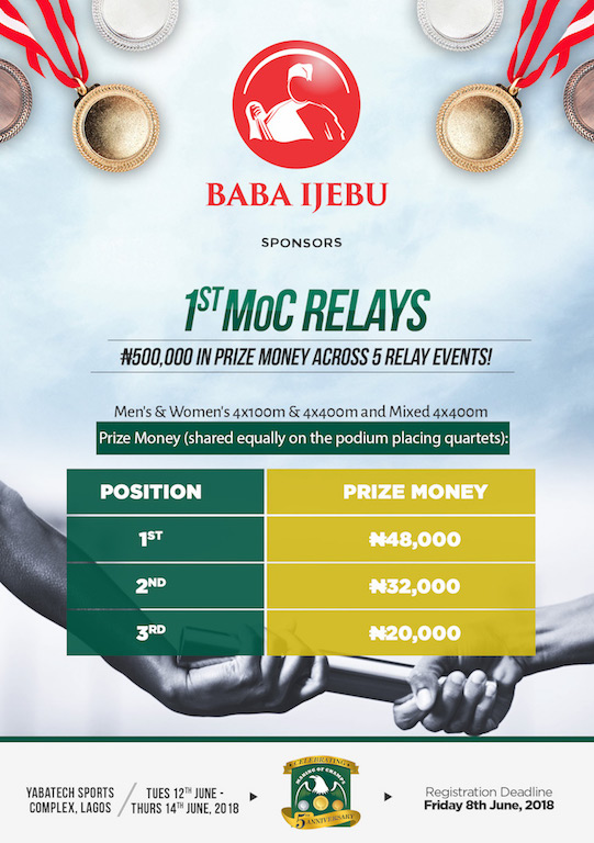 Athletes hit jackpot as Baba Ijebu sponsors 1st MoC Grand Prix